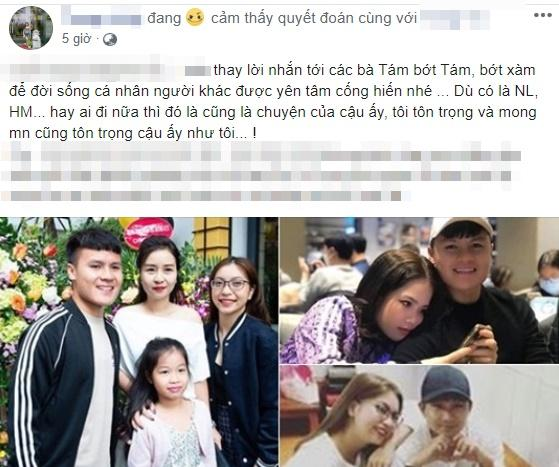 Mẹ nuôi ngầm xác nhận quan hệ Quang Hải và cô chủ tiệm nail, không tội nghiệp gì Nhật Lê-3