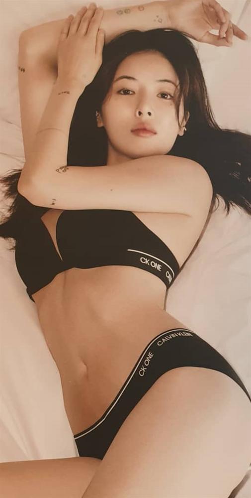 Nóng mắt với loạt ảnh diện nội y khoe thân hình bốc lửa của Nữ hoàng gợi cảm HyunA-4