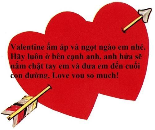 Những lời chúc Valentine ngọt ngào dành tặng người yêu thương không thể bỏ qua-2