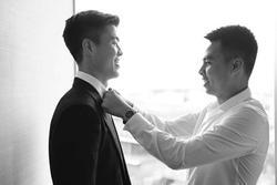 Duy Mạnh gửi lời cảm ơn Đức Huy hậu đám cưới