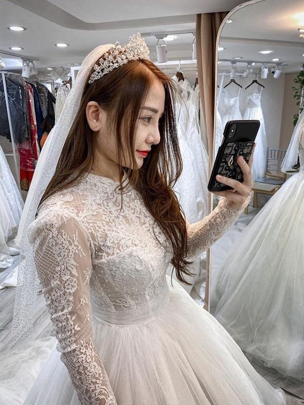 Không còn là tin đồn, Kiều Anh Hera chính thức khoe ảnh cưới demo siêu ngầu-1