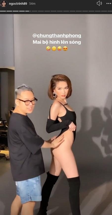 Hóa ra toàn bộ dáng pose hình nóng bỏng của Ngọc Trinh đều xài lại từ một người: Kendall Jenner chứ ai!-1