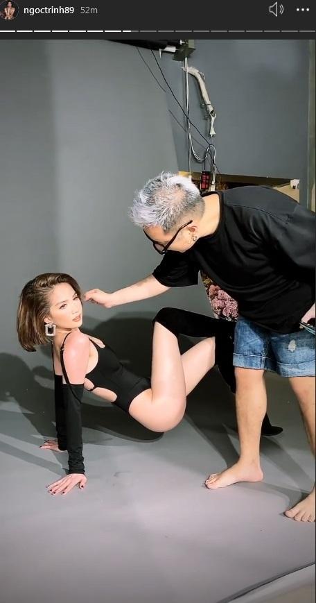 Hóa ra toàn bộ dáng pose hình nóng bỏng của Ngọc Trinh đều xài lại từ một người: Kendall Jenner chứ ai!-2