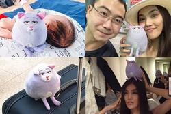 Kè kè bên thú nhồi bông suốt 5 năm, Lan Khuê được chồng đại gia cổ vũ 'đừng từ bỏ sự ngây thơ'