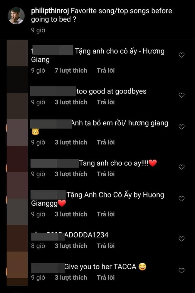 Người hâm mộ Hương Giang bỗng dưng kéo nhau công kích trang cá nhân của Phillip Thinroj vì…-3