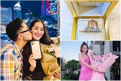 Quà Valentine của sao Việt: Người xế hộp - kim cương, người kẹo mút - hoa hồng