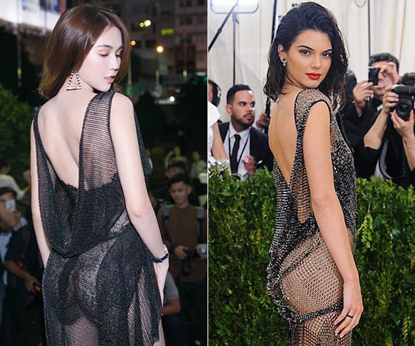 Hóa ra toàn bộ dáng pose hình nóng bỏng của Ngọc Trinh đều xài lại từ một người: Kendall Jenner chứ ai!-7