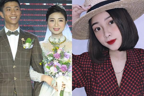 Vợ Phan Văn Đức lộ dáng đi đến cách ăn mặc chuẩn bà bầu chỉ sau nửa tháng kết hôn-3