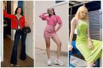 Phương Mỹ Chi lên đồ sành điệu chẳng kém fashionista - Thiều Bảo Trâm lăng-xê sắc xanh neon chói chang