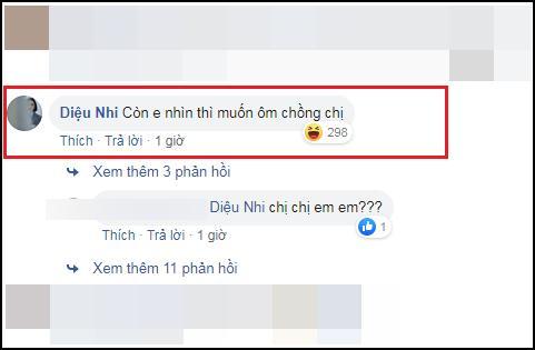Diệu Nhi bị chỉ trích vô duyên khi bình luận muốn ôm chồng chị vào ảnh của Đông Nhi-2