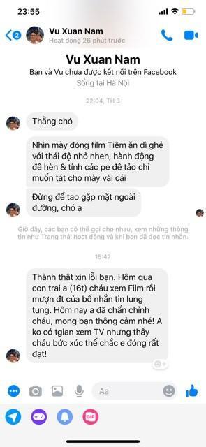Diễn viên Bình An phủ nhận dùng nick ảo để tự lăng xê-2