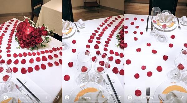 Bóc quà Valentine của Á hậu Thanh Tú, chồng đại gia bất ngờ với món đồ bé tẹo-1