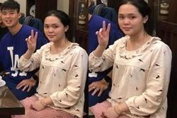 Sau một tuần làm vợ Duy Mạnh, Quỳnh Anh khiến ai cũng hết hồn với ngoại hình như bà thím