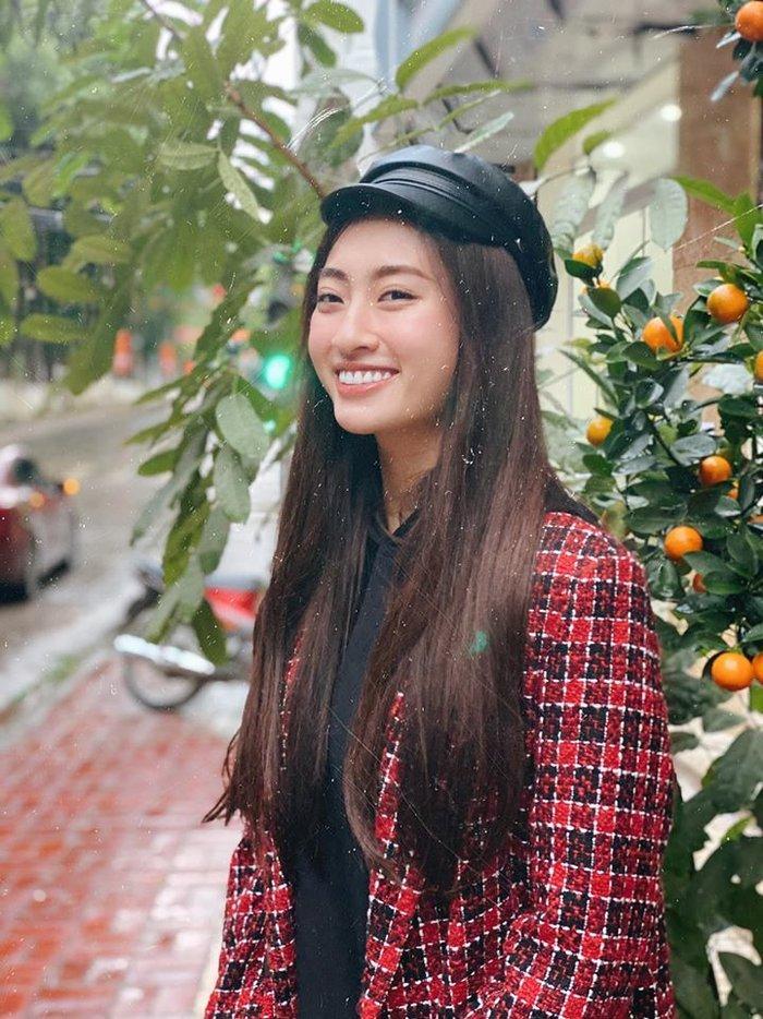 Hoa hậu Lương Thùy Linh đột ngột cắt tóc đúng Valentine khiến ai cũng xuýt xoa trầm trồ-6