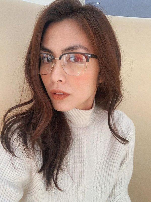 Tăng Thanh Hà chính là mỹ nữ có hàng lông mày đẹp nhất Vbiz-1