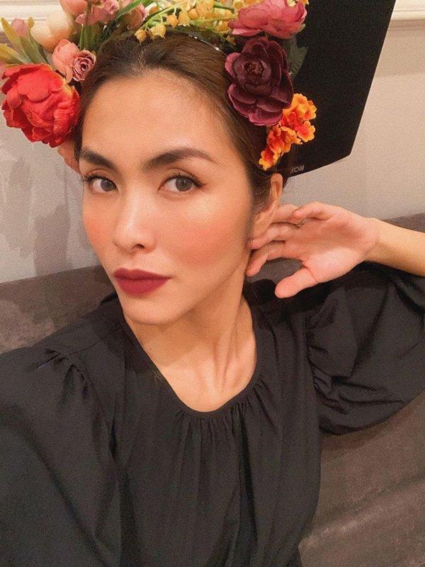 Tăng Thanh Hà chính là mỹ nữ có hàng lông mày đẹp nhất Vbiz-4