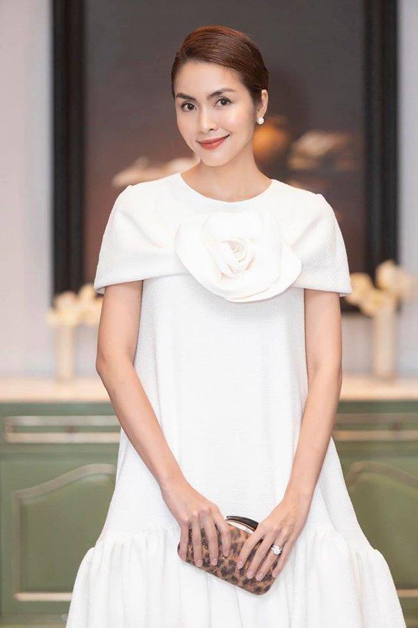 Tăng Thanh Hà chính là mỹ nữ có hàng lông mày đẹp nhất Vbiz-8