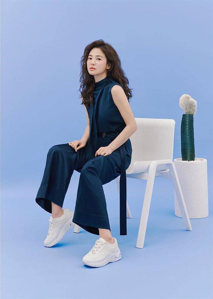 Trùm cuối tóc bà thím nhất định phải thuộc về Song Hye Kyo: Đẹp đỉnh thế này ai cưỡng lại!-2