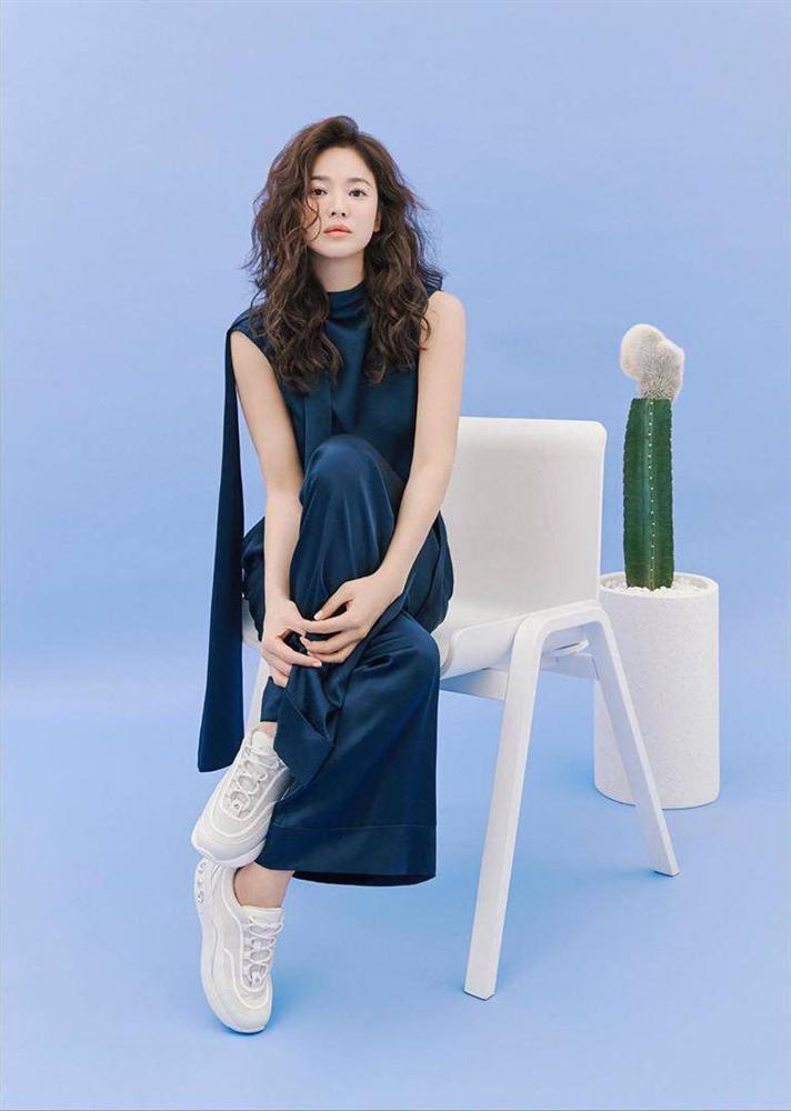Trùm cuối tóc bà thím nhất định phải thuộc về Song Hye Kyo: Đẹp đỉnh thế này ai cưỡng lại!-3