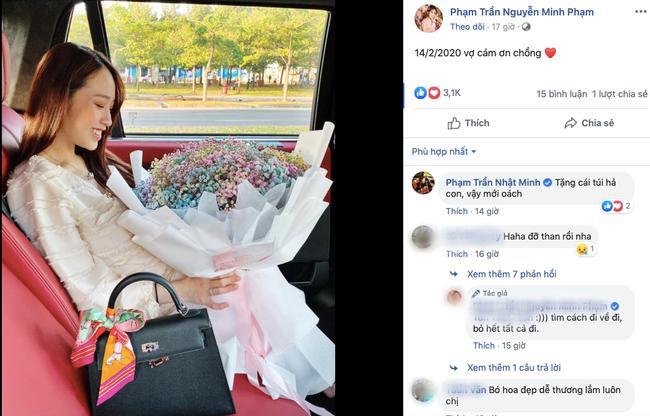 Con gái khoe được tặng quà ngày Valentine, đại gia Minh Nhựa vào thả ngay bình luận khó đỡ-3