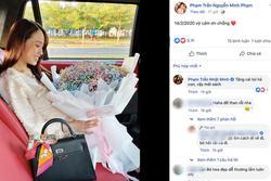 Con gái khoe được tặng quà ngày Valentine, đại gia Minh Nhựa vào 'thả' ngay bình luận khó đỡ