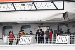 Du thuyền Diamond Princess có thêm 67 ca nhiễm COVID-19, trở thành ổ dịch lớn thứ 2 thế giới