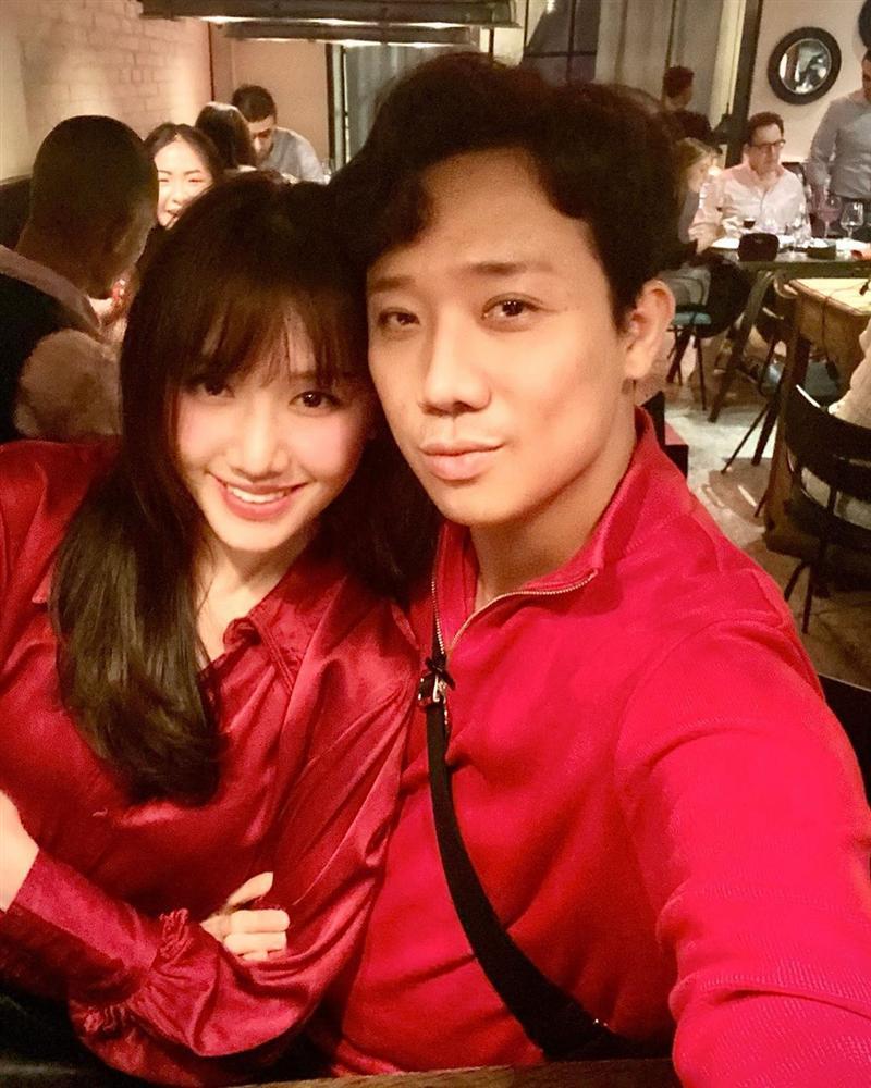 Street style: Hari Won, Trấn Thành lên đồ đồng điệu Valentine - Thanh Hằng nữ tính bất ngờ-1