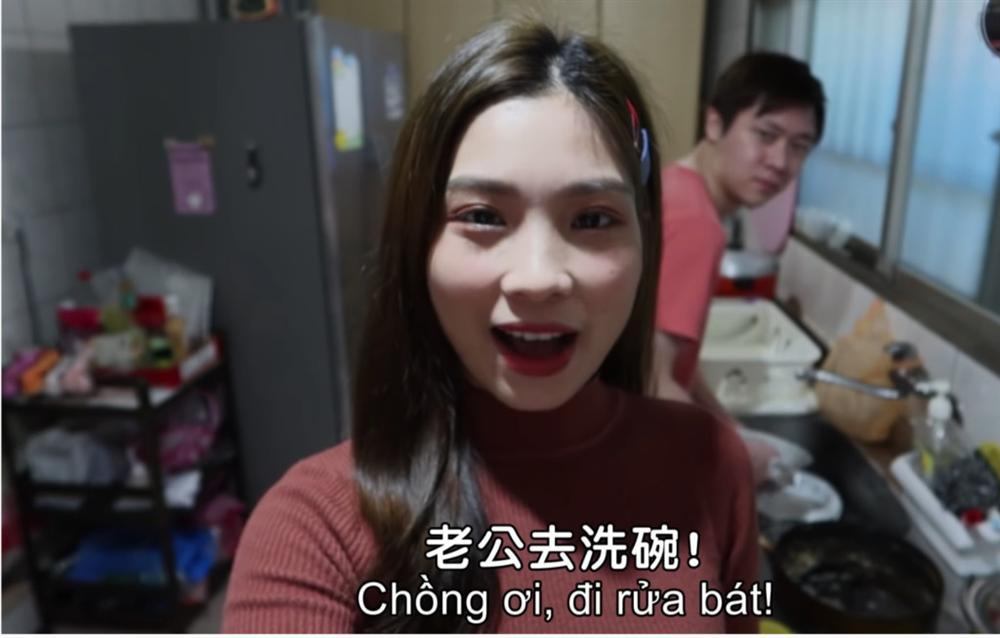 Cô dâu Việt nổi rần rần trên mạng Đài Loan vì chiêu khiến chồng làm việc nhà-2