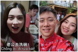 Cô dâu Việt nổi 'rần rần' trên mạng Đài Loan vì chiêu khiến chồng làm việc nhà