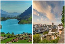 Những cảnh đẹp tại Thuỵ Sĩ xuất hiện trong 'Hạ cánh nơi anh'