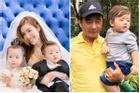 Giữa nghi vấn ly hôn chồng Tây, Elly Trần khen con đẹp trai giống người đàn ông này!