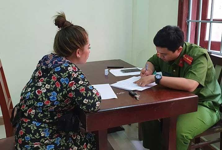 Nữ phóng viên VTV8 bị tát khi đang tác nghiệp ở Đà Nẵng-2