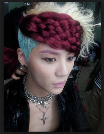 G-Dragon diện đầu sushi và 9 kiểu tóc khó hiểu nhất của sao Hàn Quốc-2