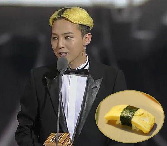 G-Dragon diện đầu sushi và 9 kiểu tóc khó hiểu nhất của sao Hàn Quốc-3