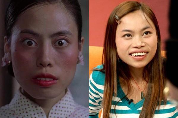 Vai phụ xấu lạ phim Châu Tinh Trì: Cô gái bán hoa răng hô vượt cả vua ăn mày-5
