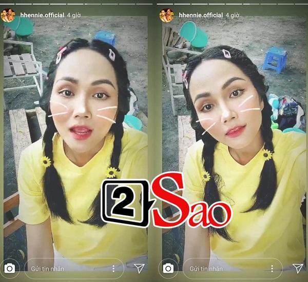 Bản tin Hoa hậu Hoàn vũ 28/8: HHen Niê tết tóc sam cực xinh, cướp sạch sóng của Phạm Hương và dàn mỹ nữ-2
