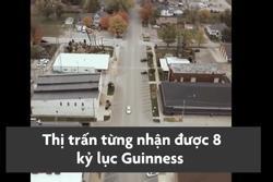 Thị trấn ở Mỹ khiến du khách thành người tí hon khi ghé thăm