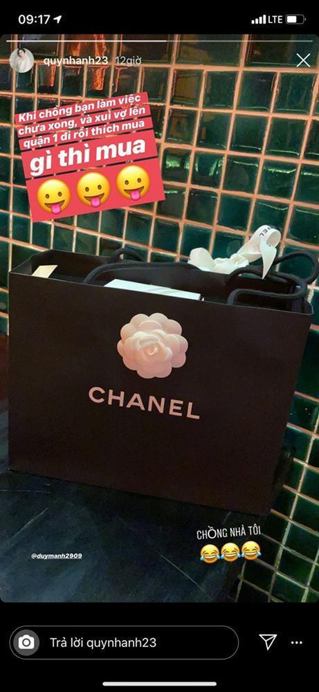 Tâm lý như Duy Mạnh: Bận việc nên chi tiền khủng cho vợ đi sắm đồ hiệu giải buồn-2