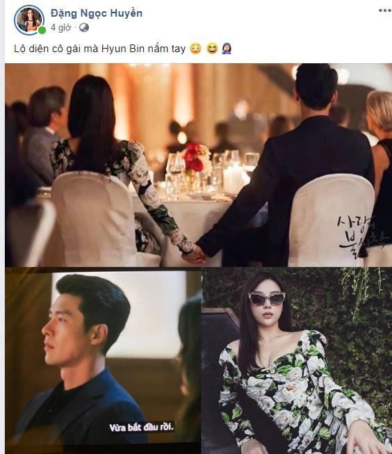 Khoe ảnh đụng váy Yoon Se Ri, Huyền Baby đòi bỏ chồng đại gia để về bên đại úy Ri Jung Hyeok-1