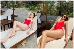 Kỳ Duyên - Minh Triệu diện áo tắm đôi khoe body đẹp như tạc
