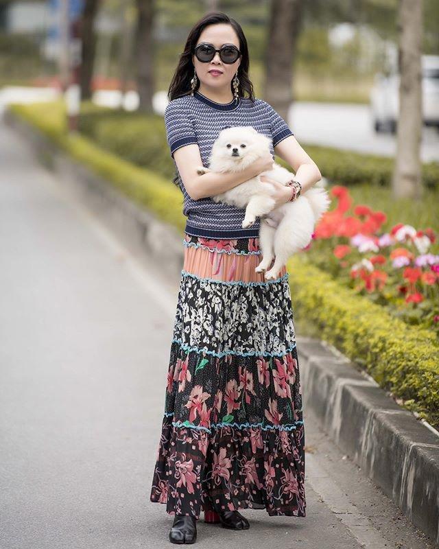 Sao Việt dắt thú cưng đi dạo: Hà Tăng như soái tỷ, Nam Em lại lộng lẫy tựa nữ hoàng-7
