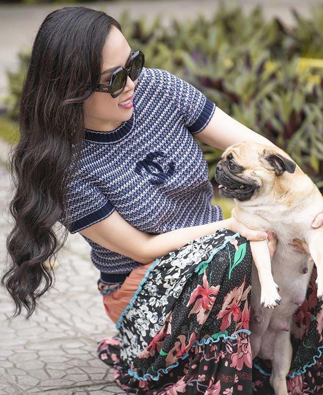 Sao Việt dắt thú cưng đi dạo: Hà Tăng như soái tỷ, Nam Em lại lộng lẫy tựa nữ hoàng-8