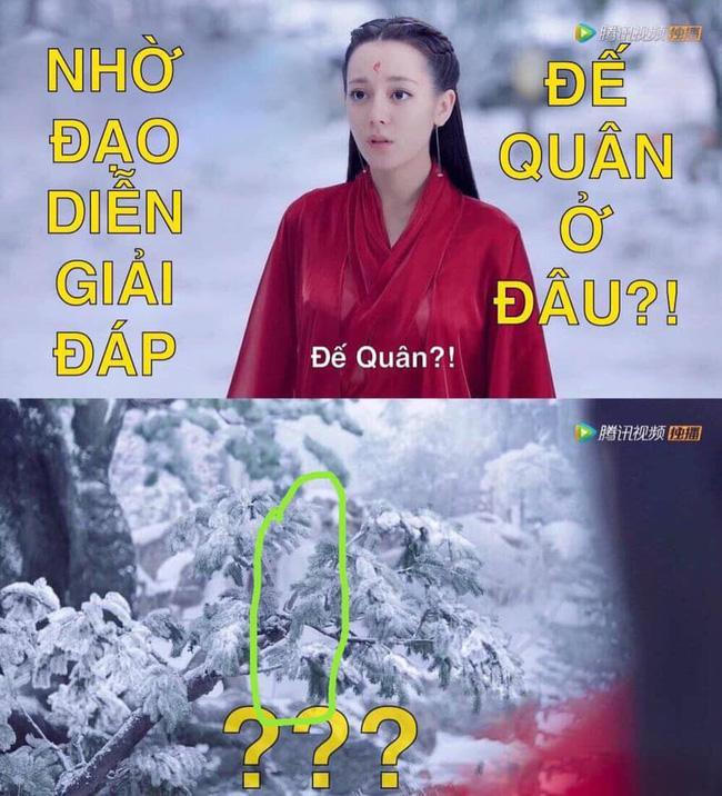 Nhặt sạn Tam sinh tam thế Chẩm thượng thư: Địch Lệ Nhiệt Ba chào Cao Vỹ Quang nhưng người lại biến mất-1