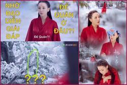 Nhặt sạn 'Tam sinh tam thế Chẩm thượng thư': Địch Lệ Nhiệt Ba chào Cao Vỹ Quang nhưng người lại biến mất