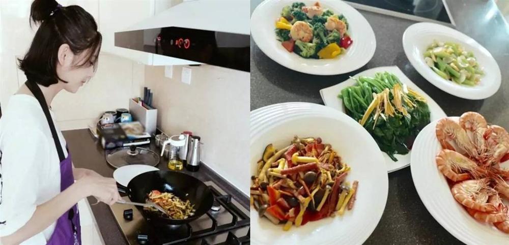 Sao Hoa ngữ trổ tài nấu ăn: Triệu Lệ Dĩnh - Trương Bá Chi siêu đỉnh, Vương Phi khiến ai nấy cạn lời-3
