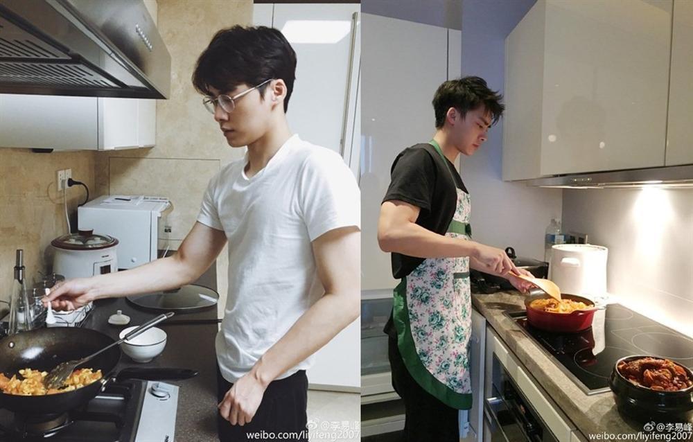 Sao Hoa ngữ trổ tài nấu ăn: Triệu Lệ Dĩnh - Trương Bá Chi siêu đỉnh, Vương Phi khiến ai nấy cạn lời-10