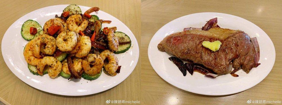 Sao Hoa ngữ trổ tài nấu ăn: Triệu Lệ Dĩnh - Trương Bá Chi siêu đỉnh, Vương Phi khiến ai nấy cạn lời-17