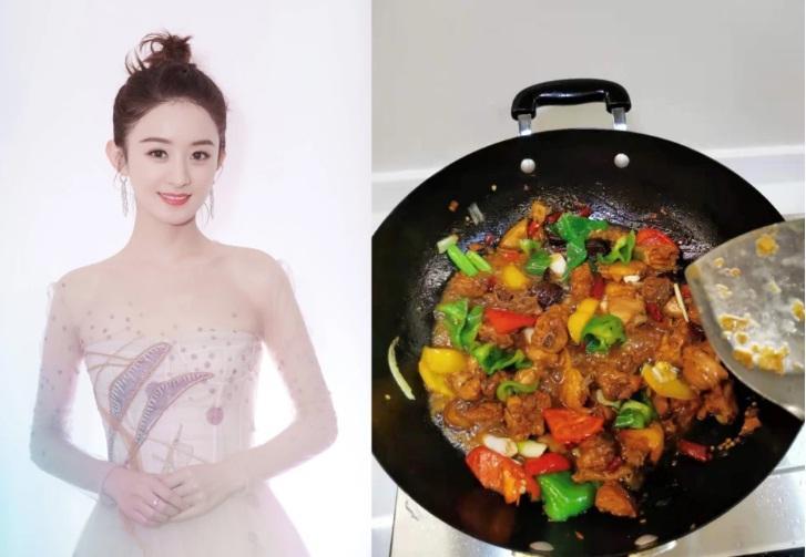 Sao Hoa ngữ trổ tài nấu ăn: Triệu Lệ Dĩnh - Trương Bá Chi siêu đỉnh, Vương Phi khiến ai nấy cạn lời-19