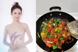 Sao Hoa ngữ trổ tài nấu ăn: Triệu Lệ Dĩnh - Trương Bá Chi siêu đỉnh, Vương Phi khiến ai nấy cạn lời