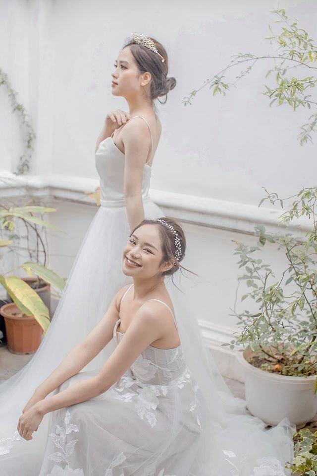 Trọn bộ ảnh cưới của cô chủ tiệm nail và bạn thân được dân tình hết lời khen ngợi-4